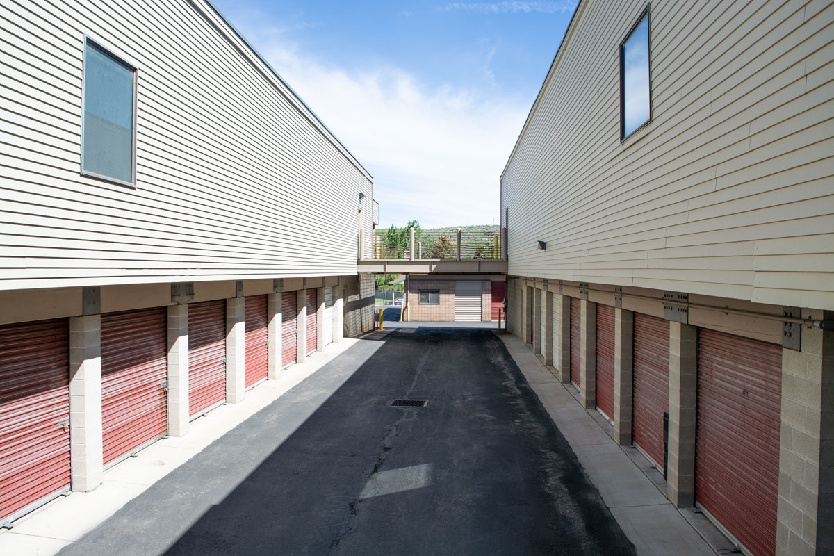 Exterior Covered Storage Unit in Park City Utah Outside Access