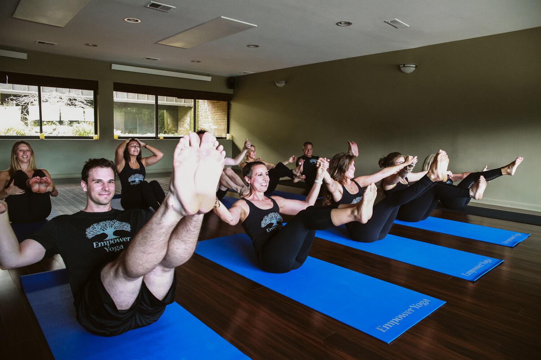 Yoga class in Northville, MI