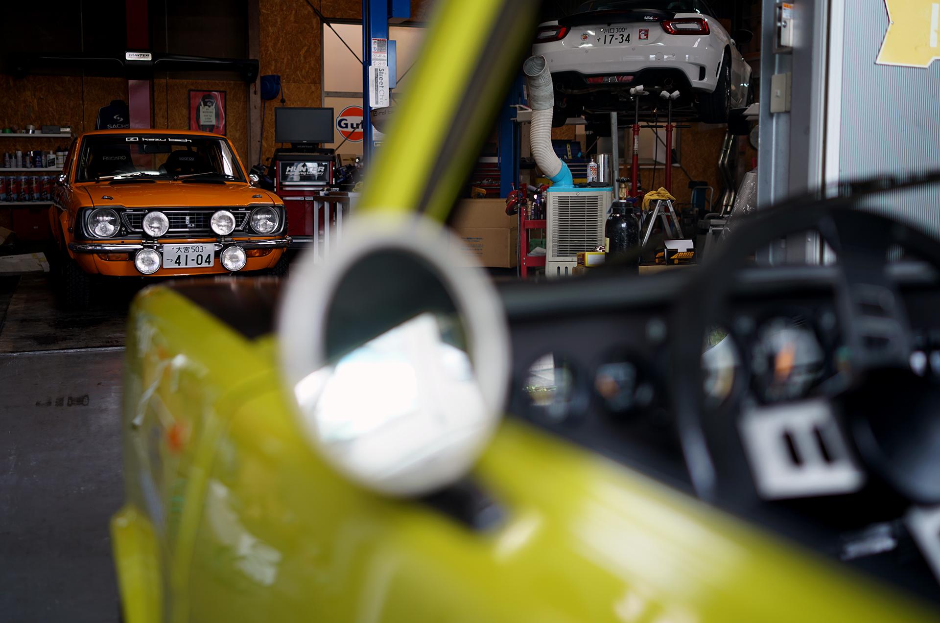 Toyota Corolla Levin (TE27) , Simca Rallye2 , Behind Scenes