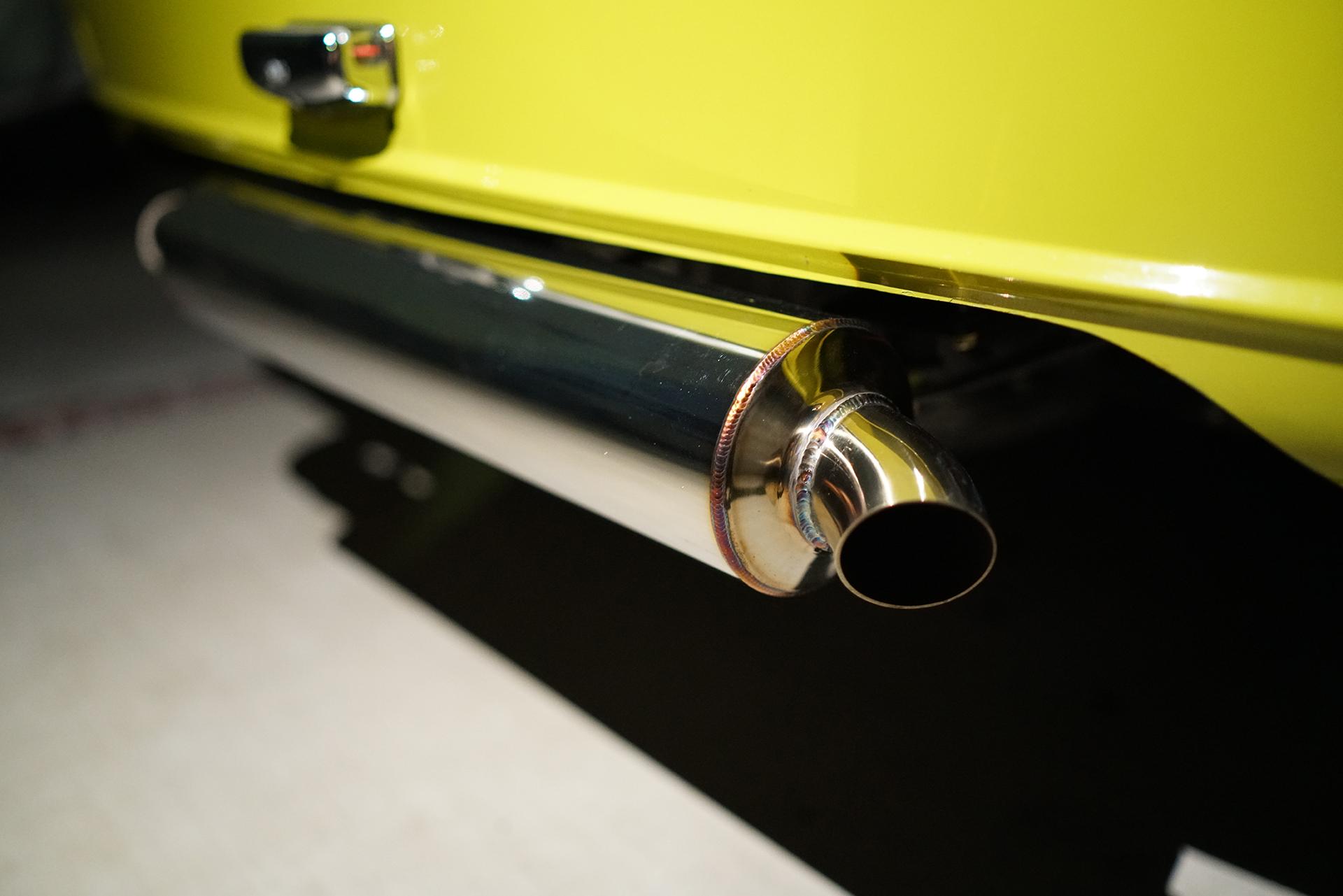 Simca Rallye2 , One-off exhaust