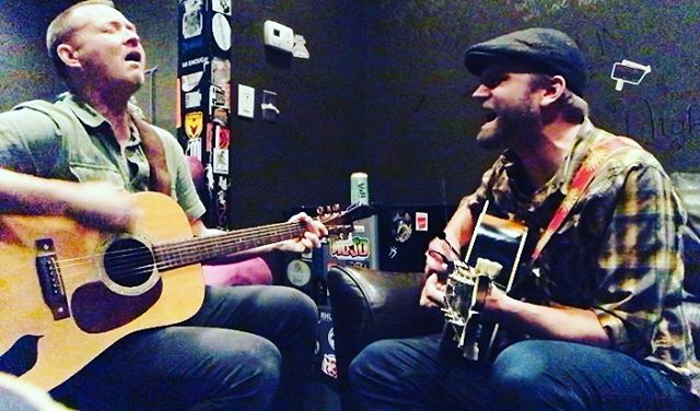 I got to sing some songs with my brother @ryanbeanstalk today at @jamminjava in support of @freedomincreation. Whole lotta joy, y'all.