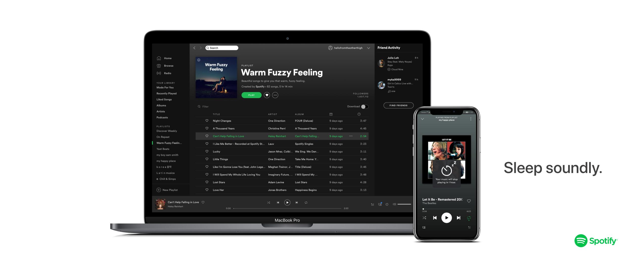 Sleep Timer For Spotify App