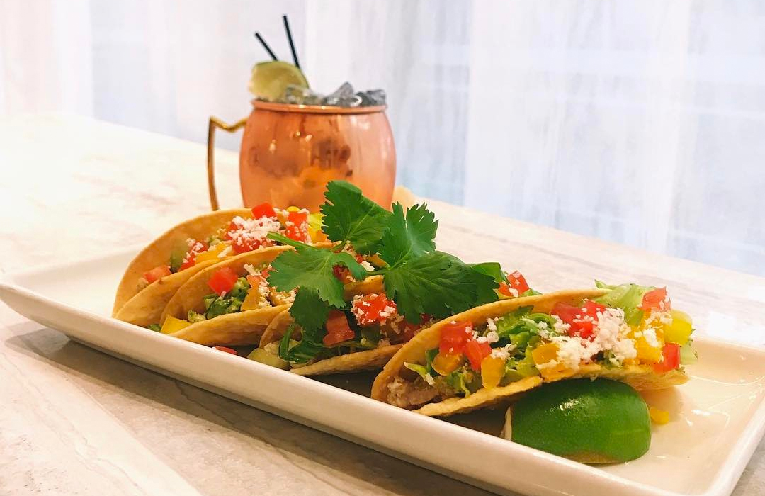 """Recipe Reveal: Nordstrom's Cilantro Lime Chicken Tacos"" -"