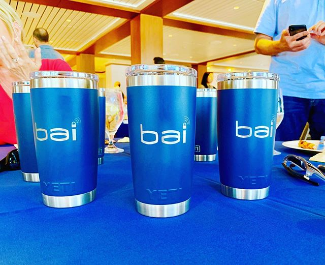 Engraved @yeti tumblers for our friends at BAI.