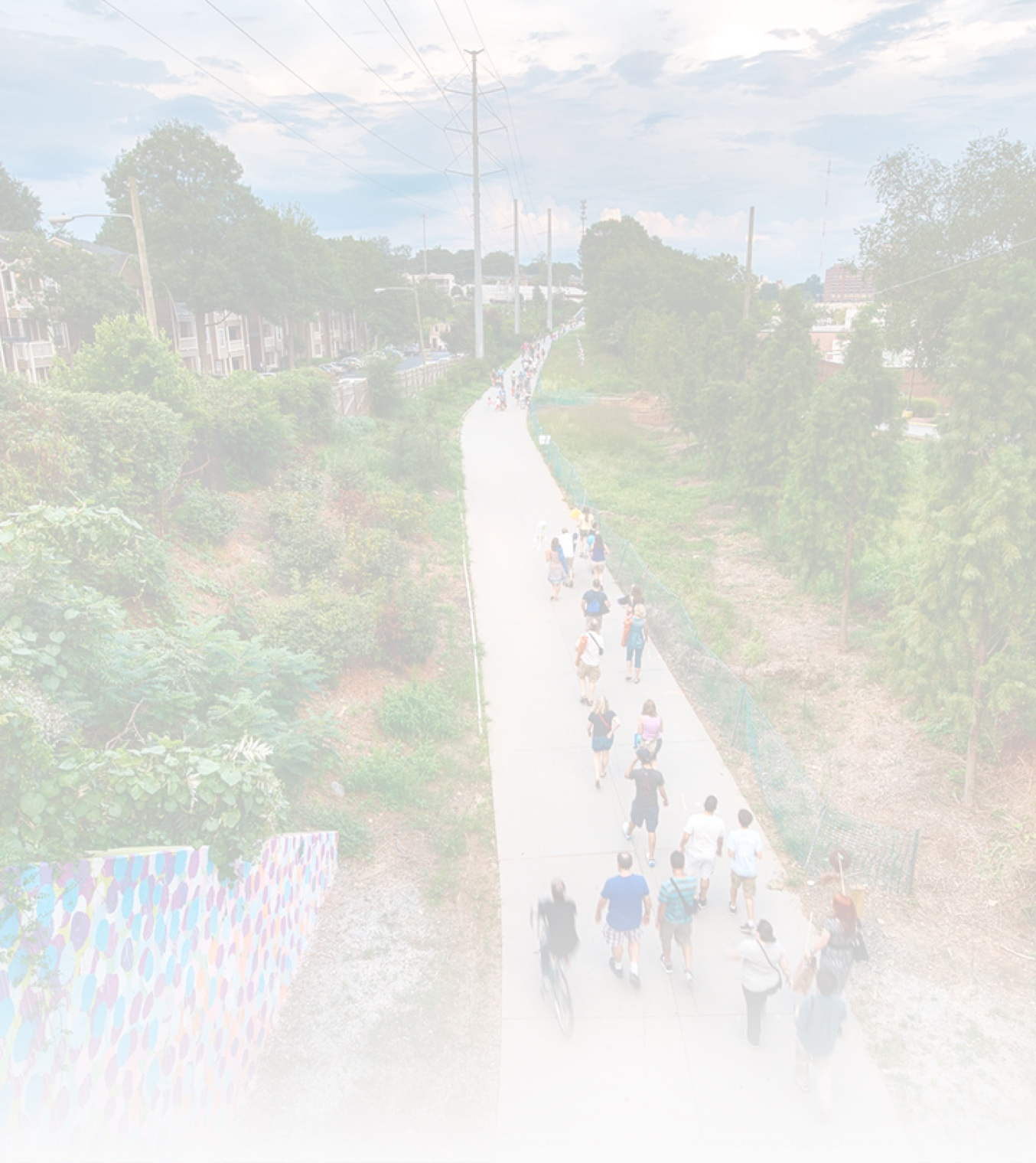 """What is the BeltLine's Mission? - """"As one of the largest, most wide-ranging urban redevelopment programs in the United States, the Atlanta BeltLine is building a more socially and economically resilient Atlanta with our partner organizations and host communities through job creation, inclusive transportation systems, affordable housing, and public spaces for all."""""""