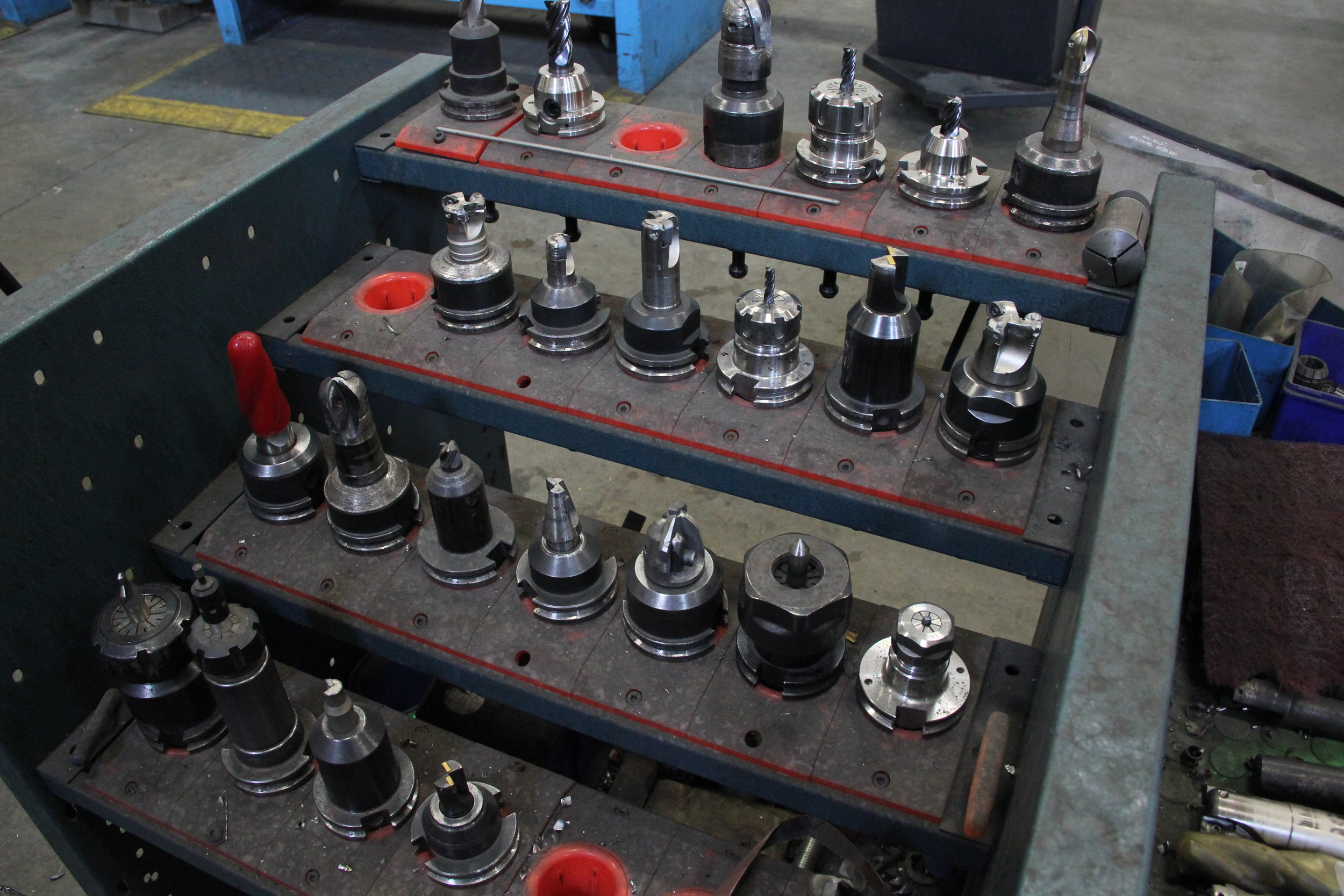 Quality Tooling - Incorporating only top of the line brands in tooling and production, we offer you peace of mind when it comes to choosing us.