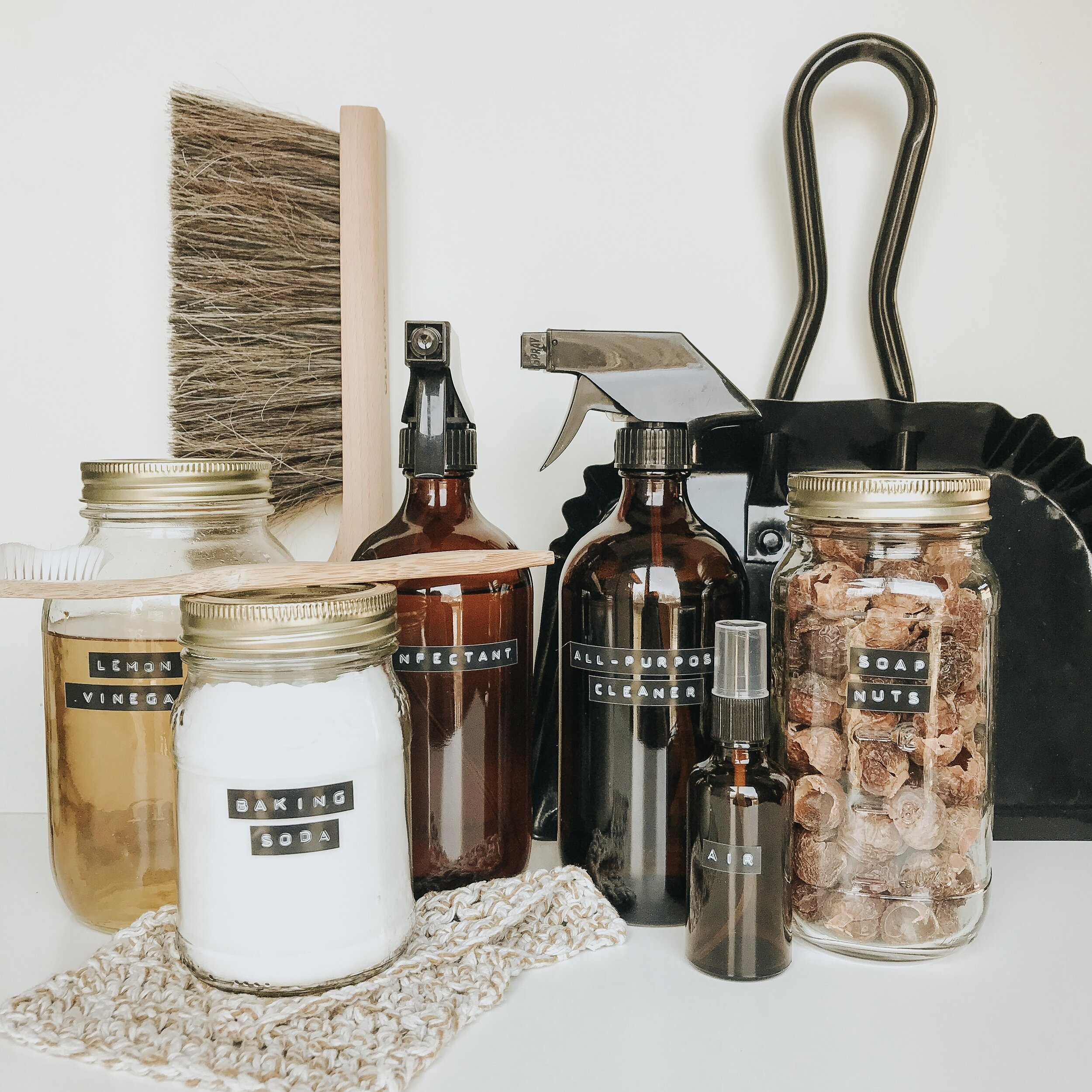Homemade Natural Cleaning Recipes