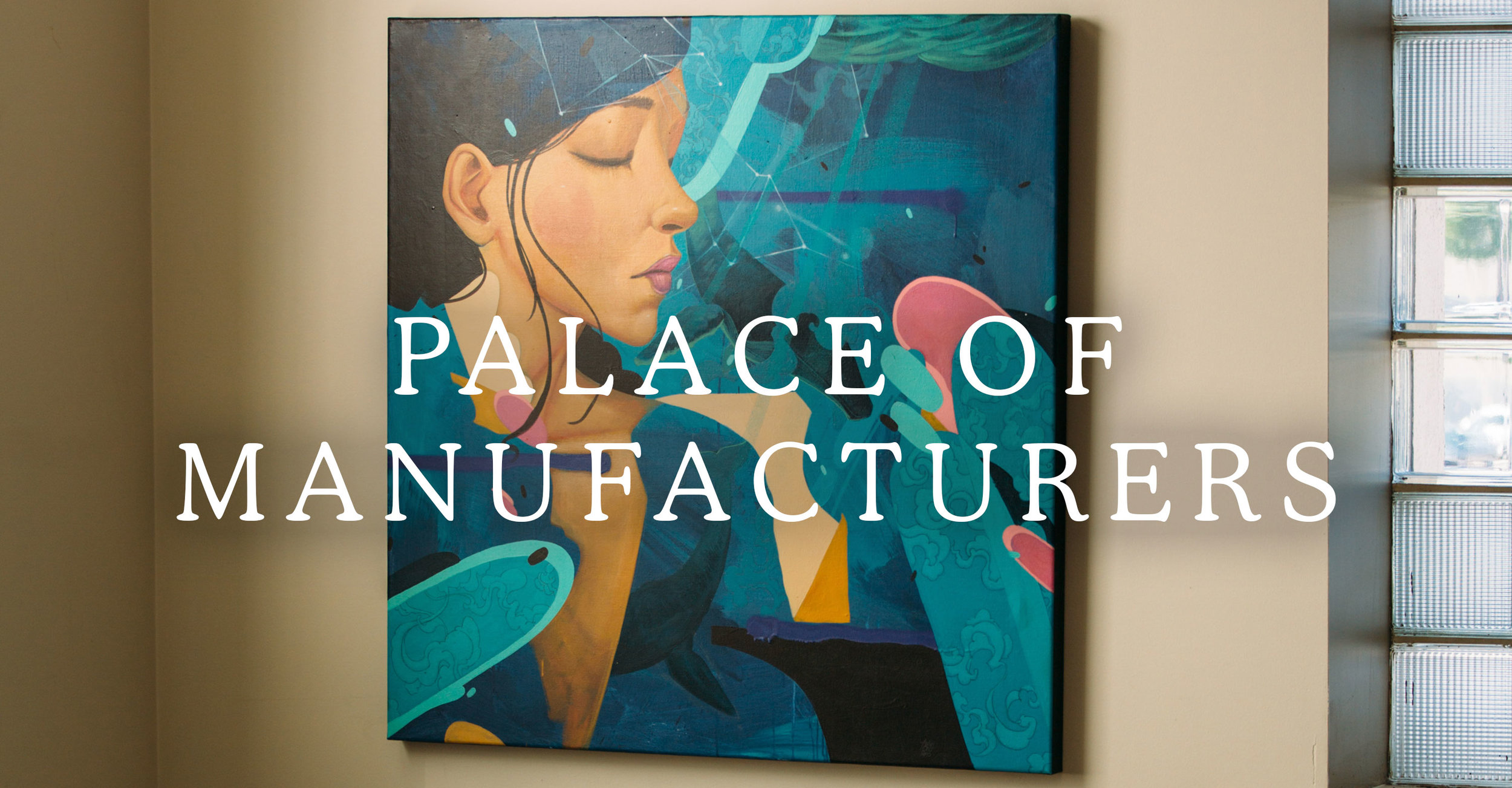 Palace of Manufacturers Title Card
