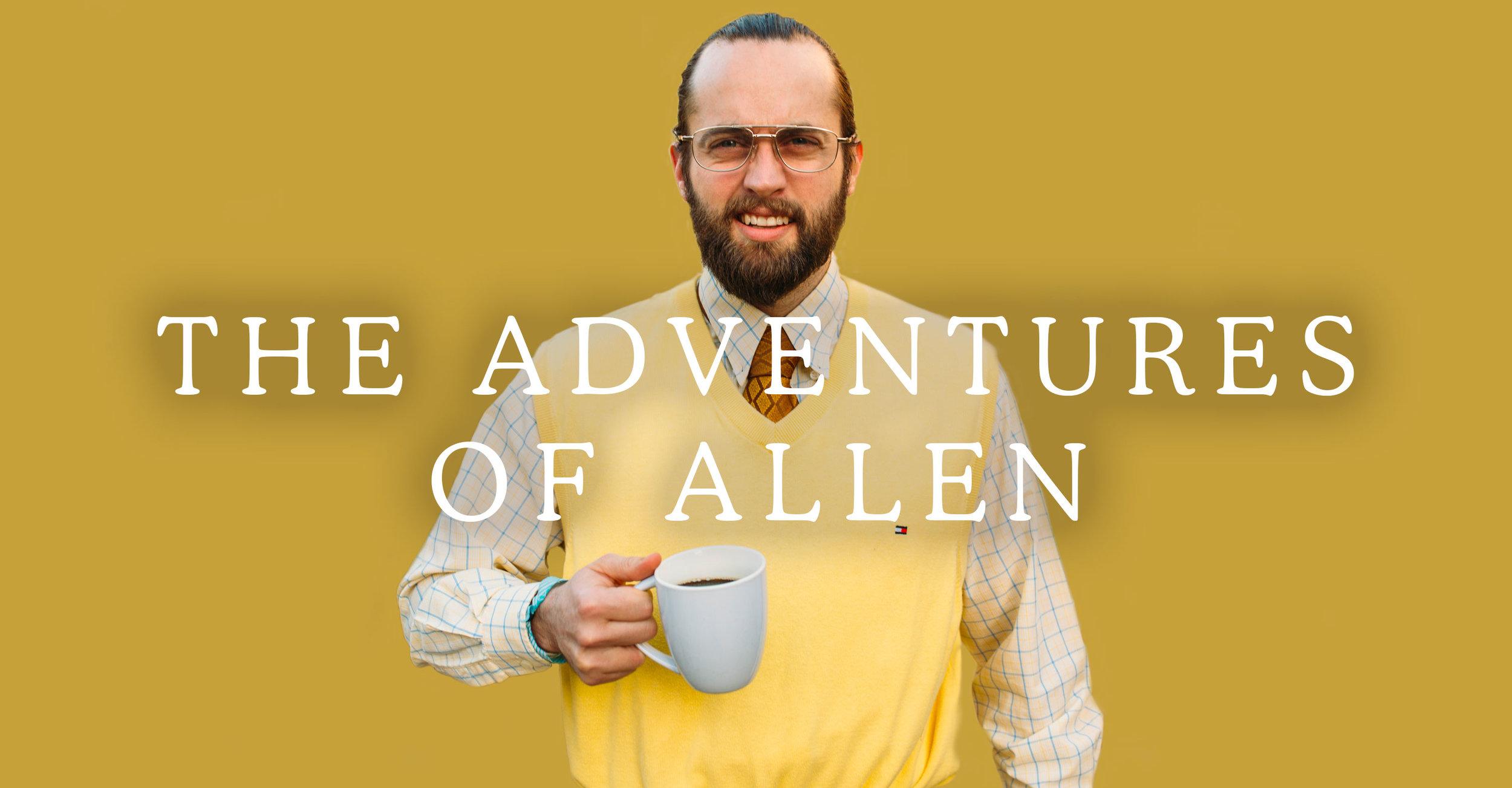 The Adventures of Allen Title Card