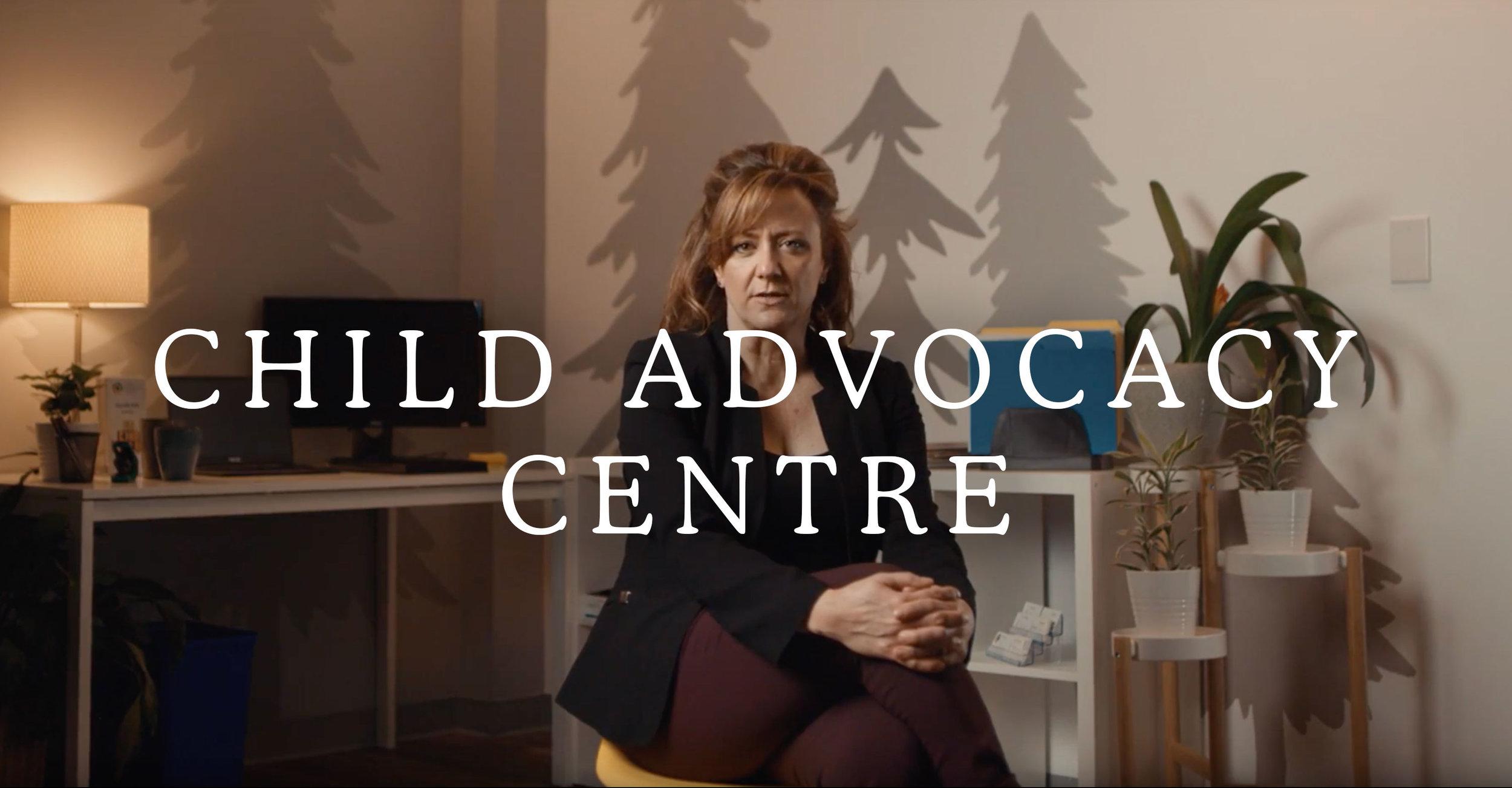 Child Advocacy Centre Title Card