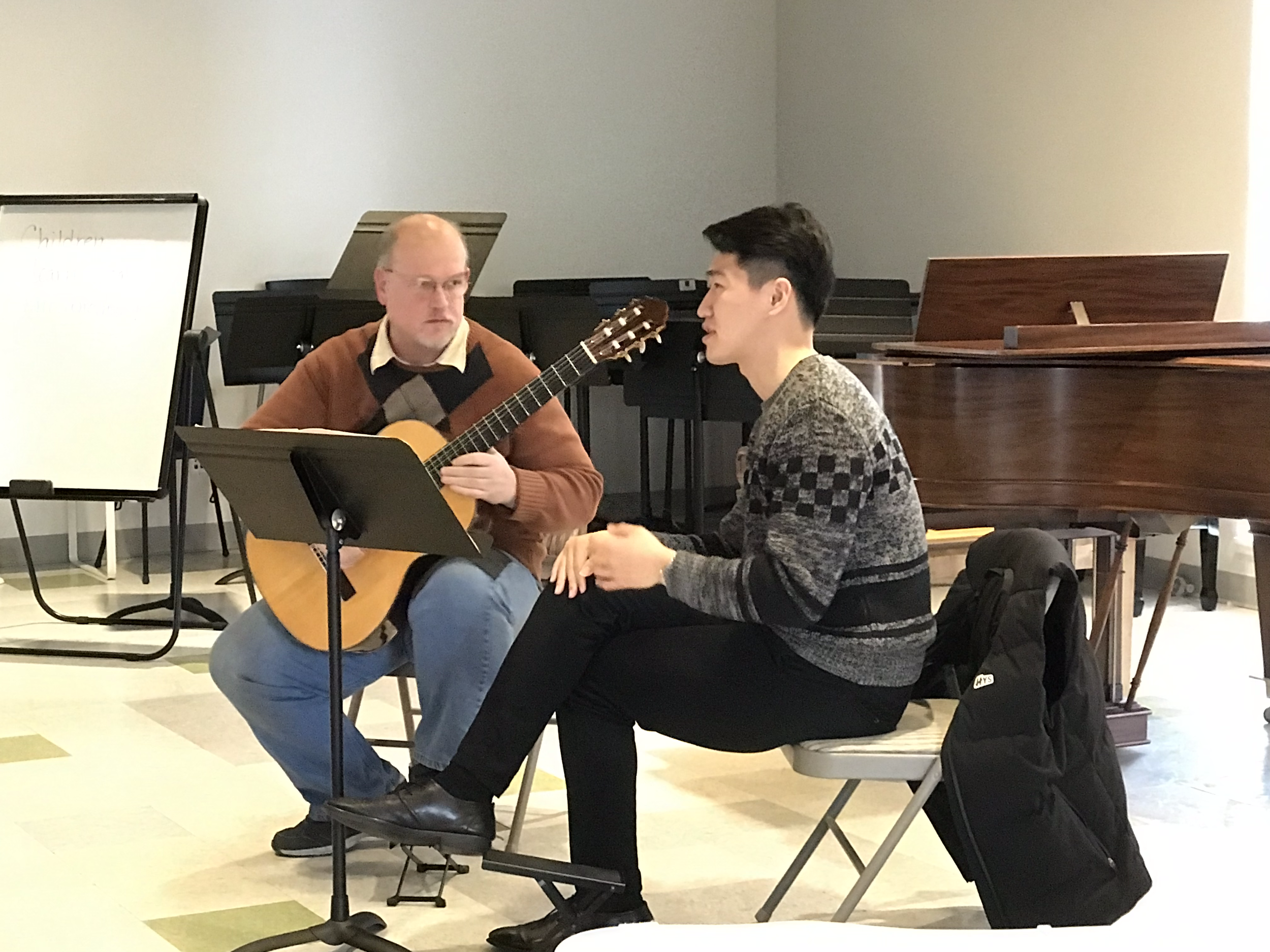 Youth Guitar Orchestra at Sorenson Unity Center