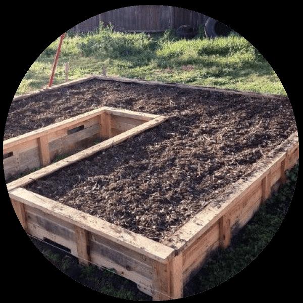 Diy Pallet Garden Bed Sustainability Trust Wellington