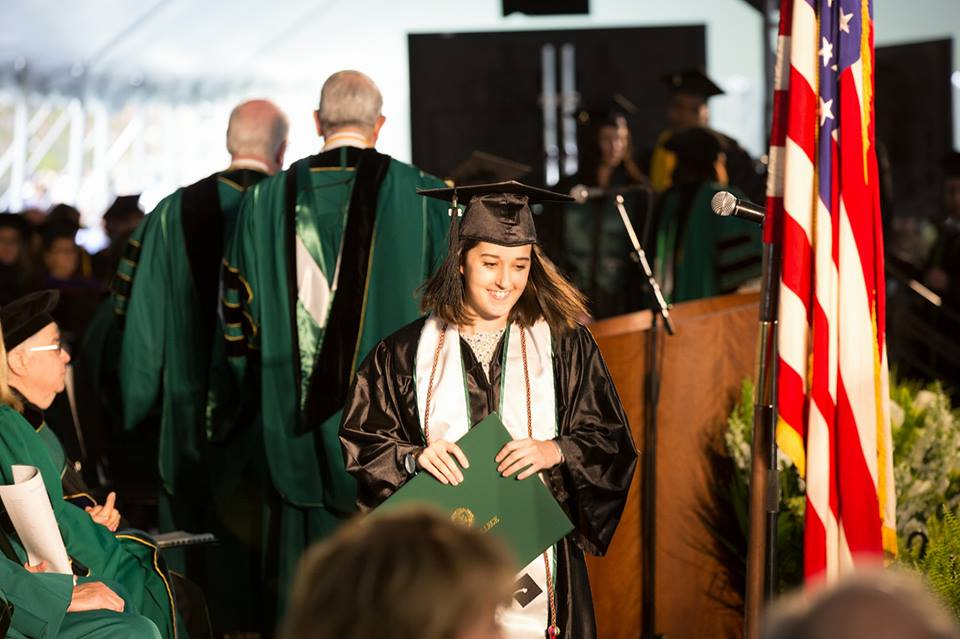 It's official! - Danielle graduated from Wagner College in May 2018, earning a BA in Theatre Performance and a minor in English. During her time at school, she sang in the choir, played piano for the college chapel, tutored elementary school students, and regularly appeared both onstage and behind the scenes of her college productions.