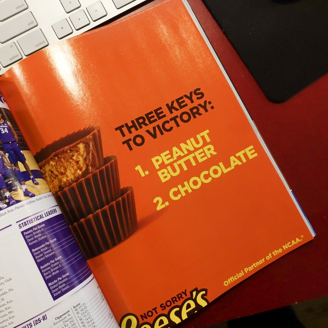 Inside the official guide book of NCAA March Madness