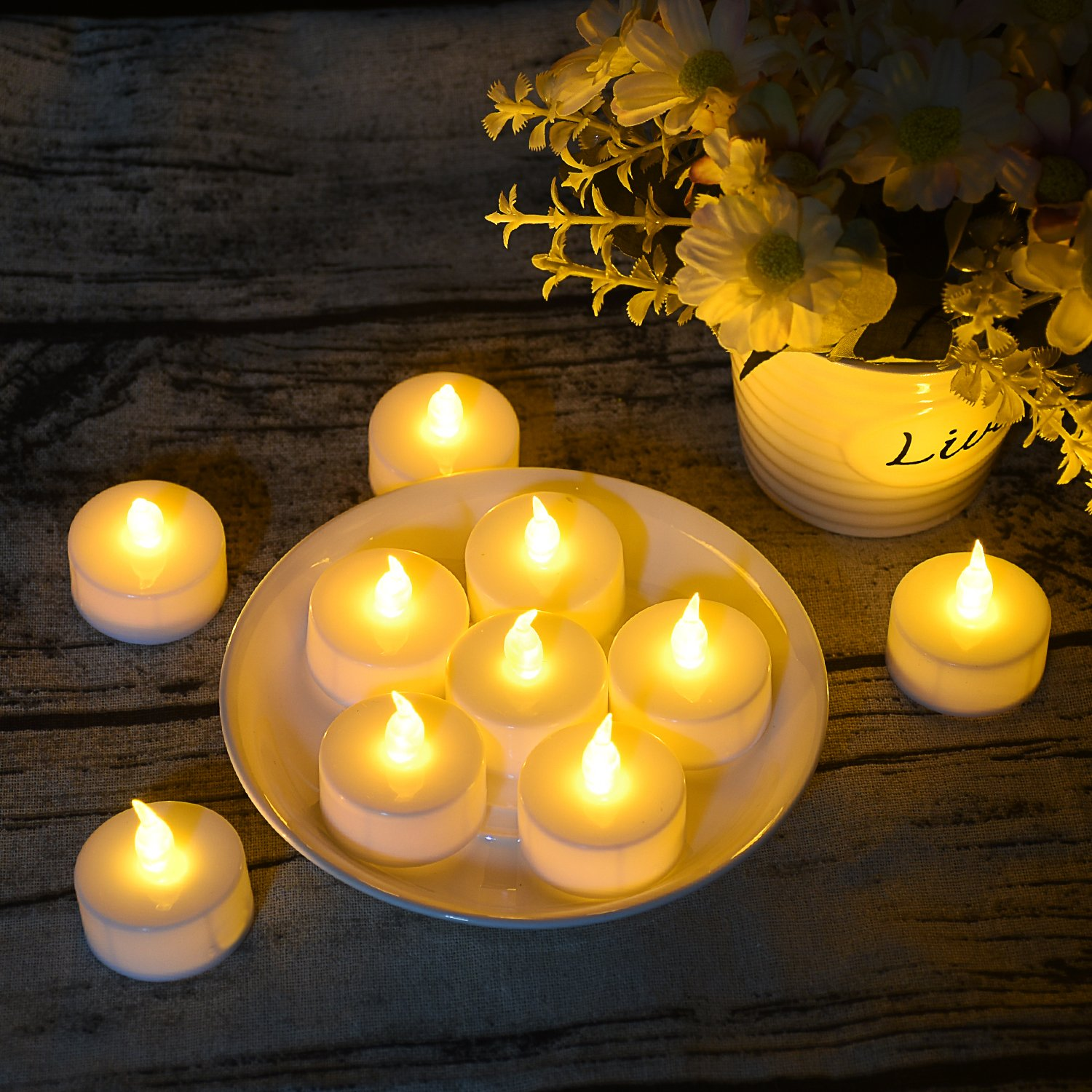 These LED tea lights are only $26 for 125!