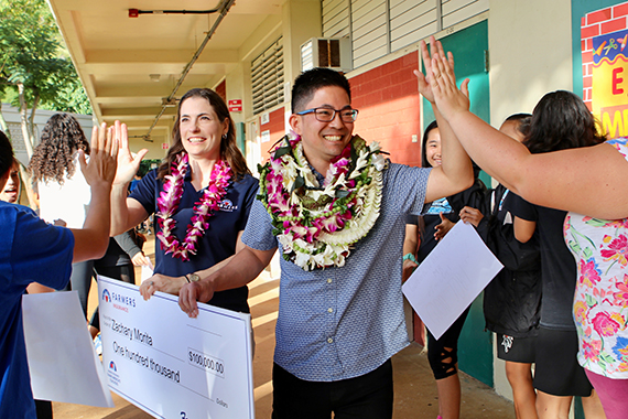 "Zachary Morita - STAR-ADVERTISERby Susan Essoyan, Dec. 11, 2018.""Music teacher Zachary Morita was named today as the winner of a $100,000 grant to create a statewide Niu Valley Music Olympic Invitational, thanks to a surge of online votes in the Dream Big Teacher Challenge competition."""
