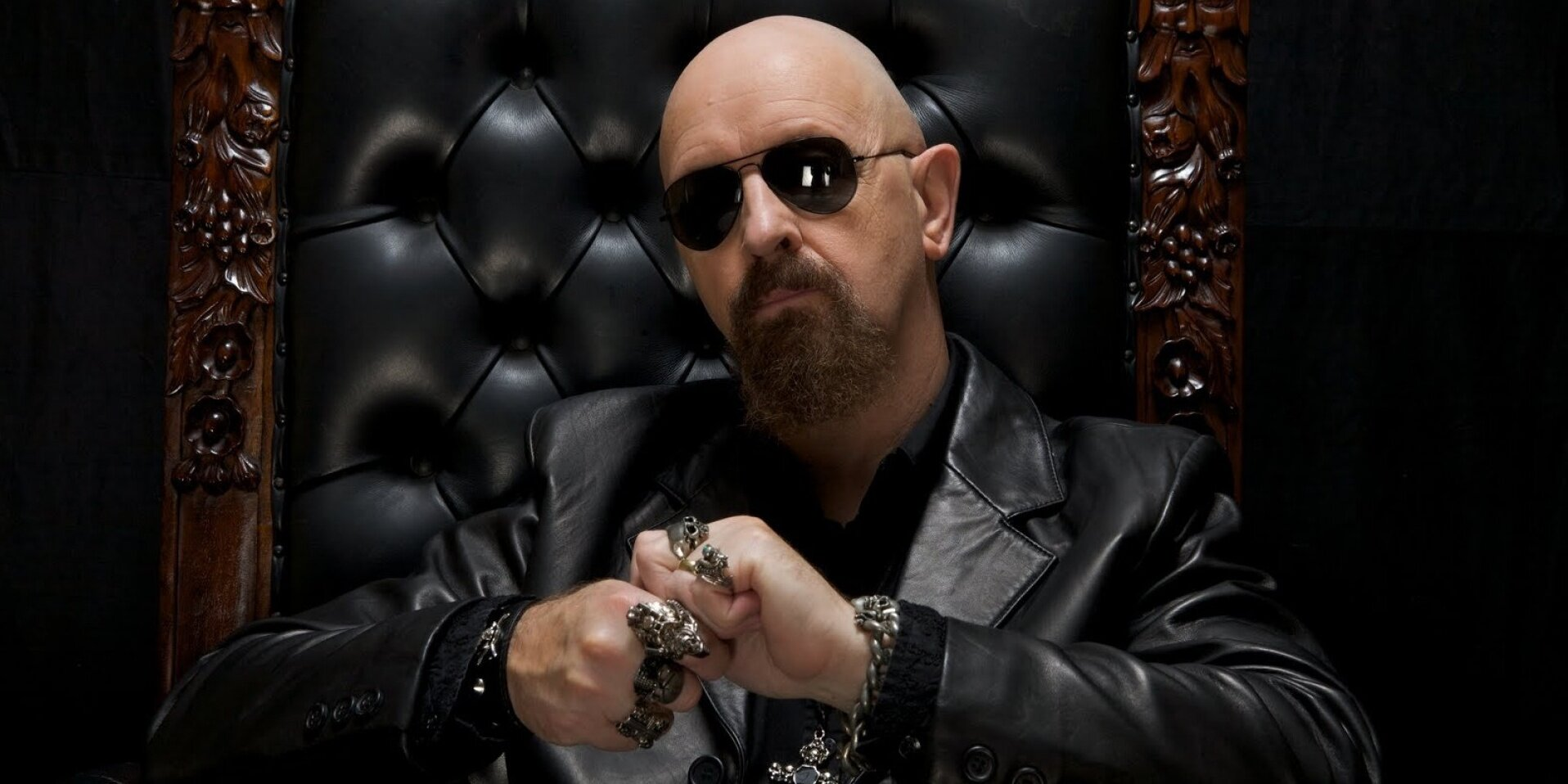 """Rob Halford - Halford openly admitted being a huge Lady Gaga fan, so when asked if he had seen the insane YouTube mashup of Lady Gaga's Judas and Judas Priest's Painkiller by mashup artist Wax Audio, Halford said he had just been watching it again a few days before the interview.""""I was watching it with Chris Freeman, who was the bass player for gay punk band Pansy Division. He came to the pre-show the other day and we got the iPad out and he had his mind blown. It has 1,750,000 views. I love it.""""From The Vancouver Sun"""