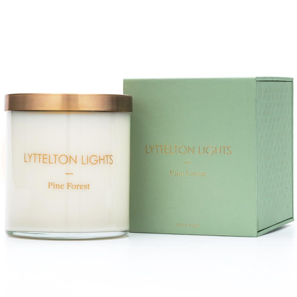 Lyttelton Lights candle