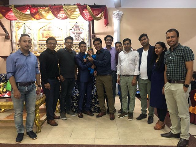 Yesterday our Proshore team went to Child weaning Ceremony (paasni in Nepali) of Saras- Sujit's child. We wish him and his father a prosperous and brighter future ahead. 🙂  Proshore family