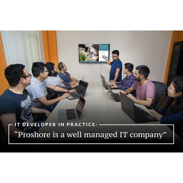 We interviewed our two developers: Sushant and @sakaruk about their experience working at Proshore. Here is what they say. 😍🙂 https://medium.com/proshore/it-developer-in-practice-proshore-is-a-well-managed-it-company-dda9e608f6c5  #proshore #developers #webdevelopers #software #IT #interview #experience #sharing #communication
