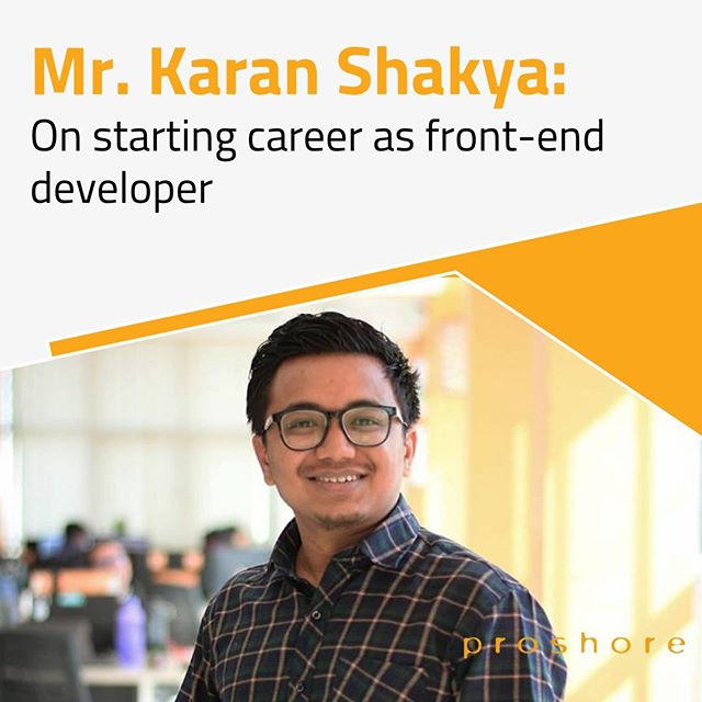 Meet our UI designer, Mr. karan Shakya, a man of multiple talent. He has completed his Bachelors in Business Studies. After completing his bachelors he learned to make some handicrafts. In meantime, his focus turned to gain the skills of designing. He loves to travel a lot. He hikes at least once a month. Recently, he has been to Gosaikunda. Recently, he has been learning some video editing skills which can be seen in his videos.  In this blog he talks about his experience as a front-end developer.  Link is mentioned in the bio.  #designer #inspiration #motivation #developer #skills #uidesign #photoshop