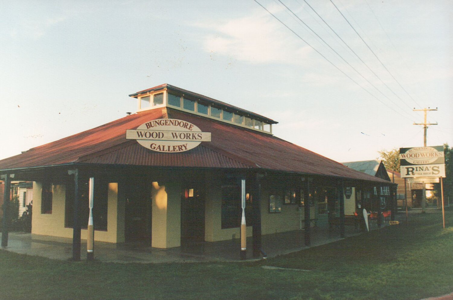 Original Gallery open in 1983.