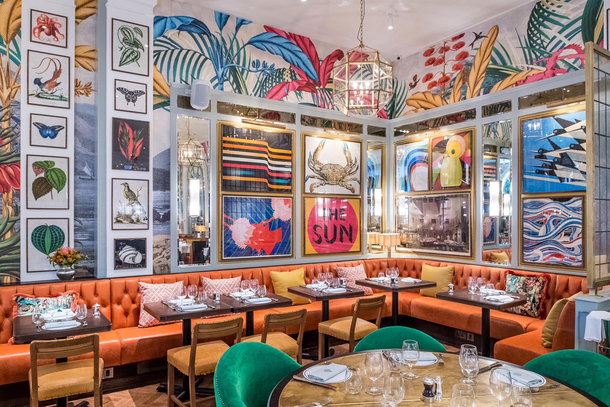 Dine out - Brighton's dining scene just keeps getting better and better. Located in the old post office, The Ivy in the Lanes is just one of the city's culinary newcomers. And while it may not be an independent restaurant, the gorgeously eclectic decor is pure Brighton, paying homage to the city's hedonistic spirit. The perfect place to head straight from us here at Shine for a spot of weekend brunch with friends and show off your swishy new hair. And do be sure to check out the loos, they alone deserve their own Pinterest board.