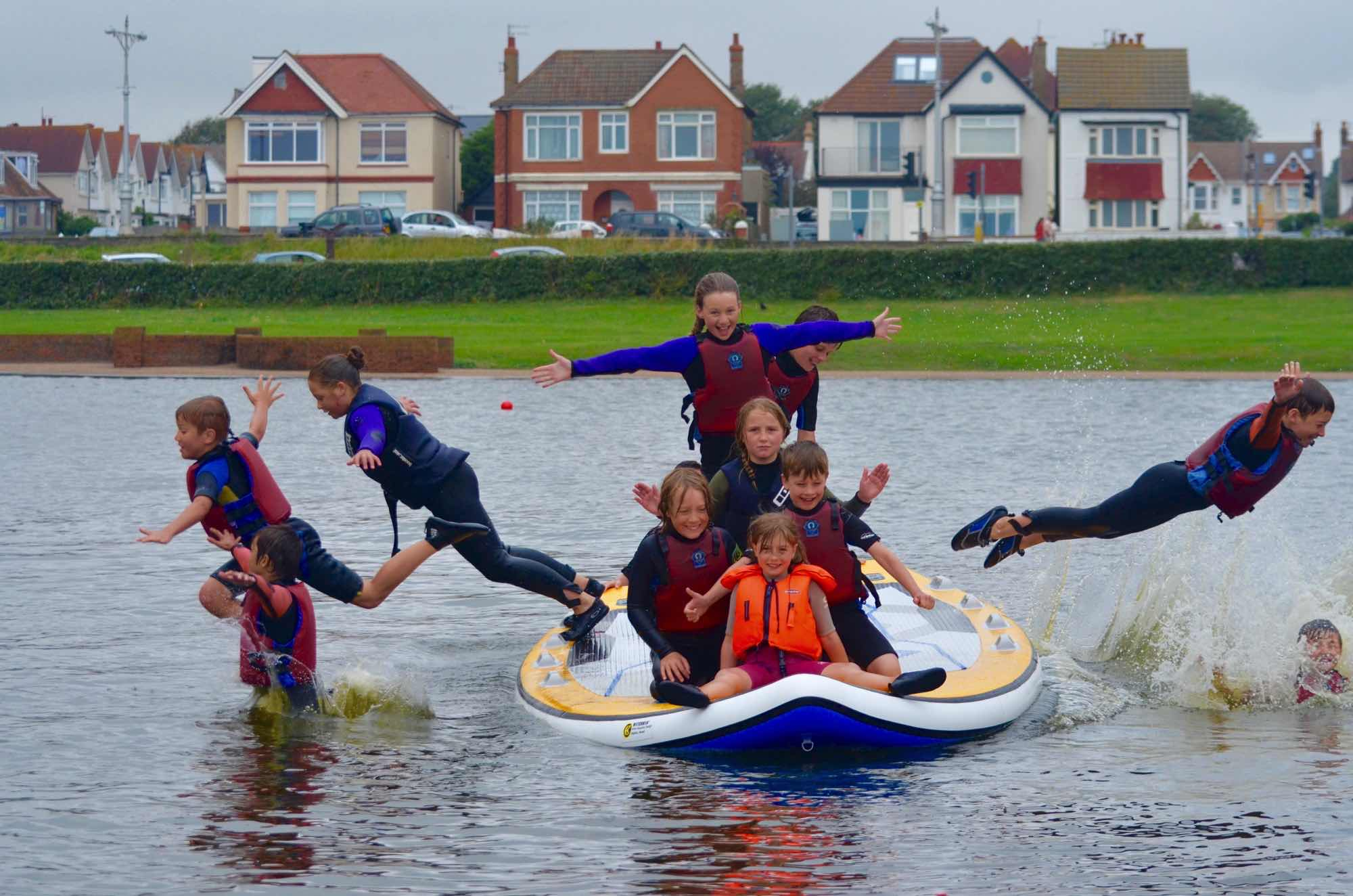 Make a Splash - Try your hand at stand-up paddleboarding, wakeboarding and lots of other water activities down at Hove Lagoon. Lagoon Watersports run lots of sessions and activity weeks for kids too, and you can even give SUP Yoga a go!