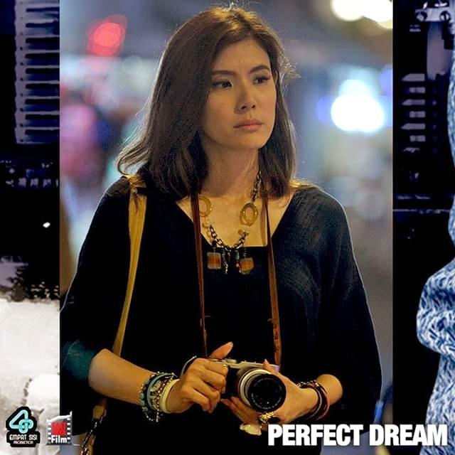 "-Olga Lydia in ""Perfect Dream"" Movie Shooting"