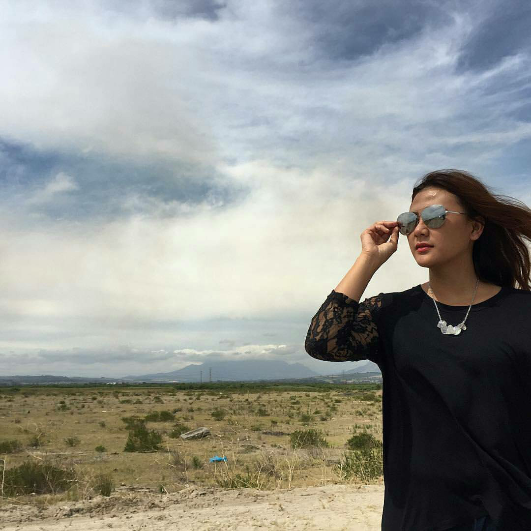 What a beautiful sky, made by GOD and my beautiful necklace. - Arandella from Jakarta, Indonesia