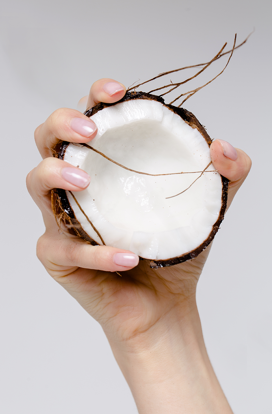 Half Coconut is a Fruit