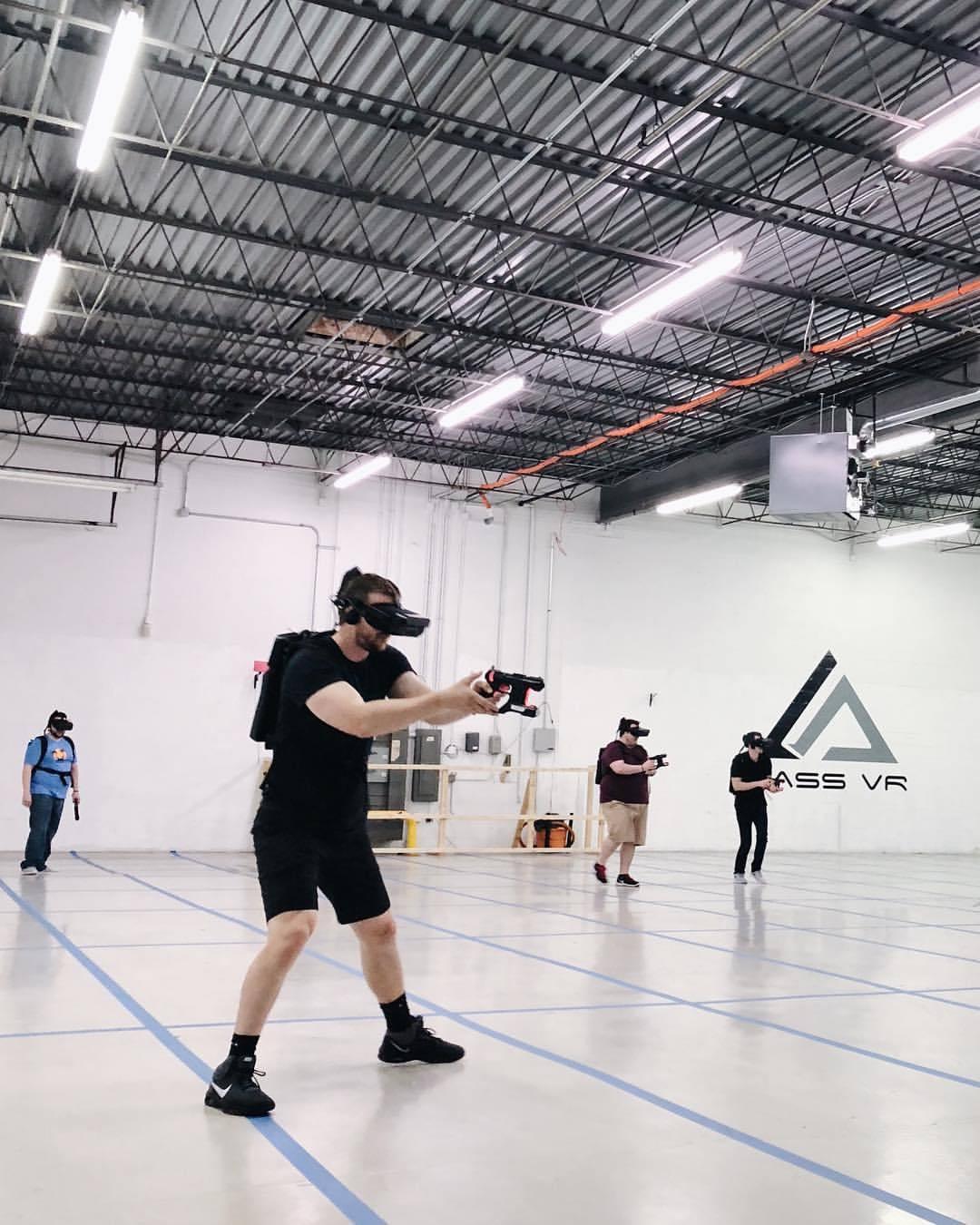 🔫 (at Mass VR)