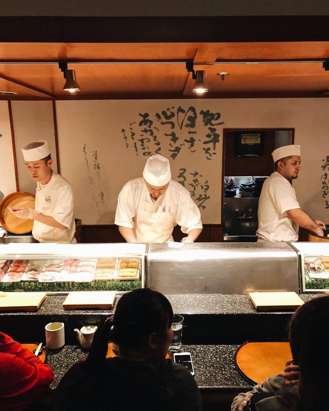 🍣  (at Shiro's Sushi Restaurant)