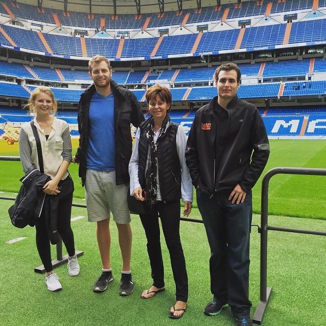 wish there was a game this week (at Estadio Santiago Bernabéu)