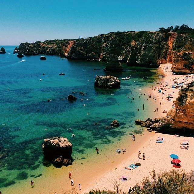 Praia Dona Ana (at Praia Dona Ana)