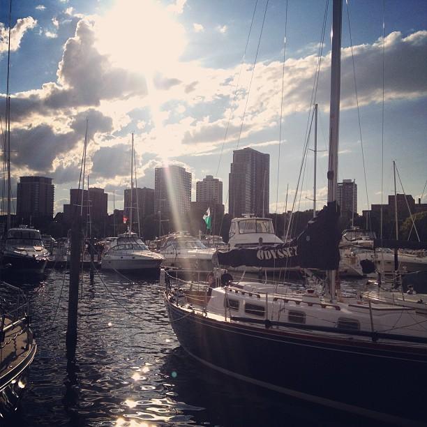 at Milwaukee Yacht Club