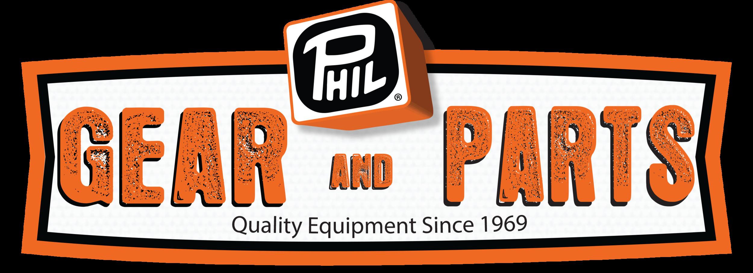 PHIL Gear & Parts logo