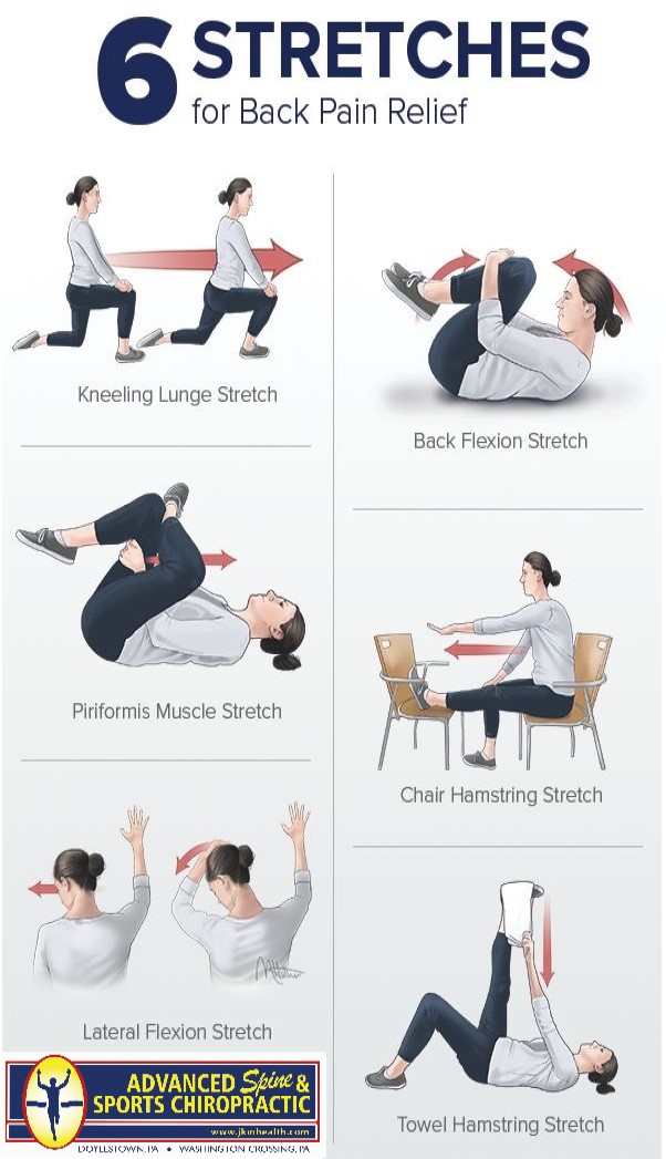 6 Stretches for Back Pain Relief