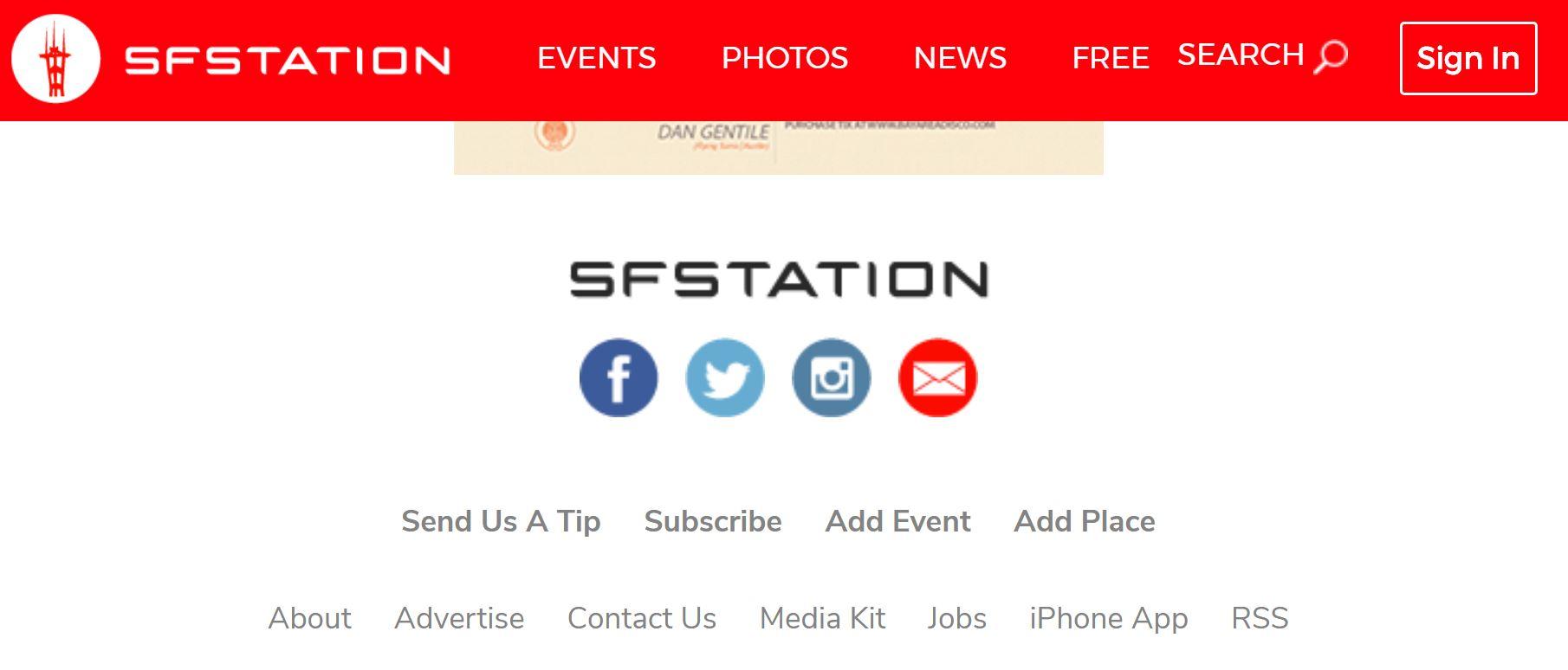 S.F. Station  2019, 2018, 2017, 2016, 2015