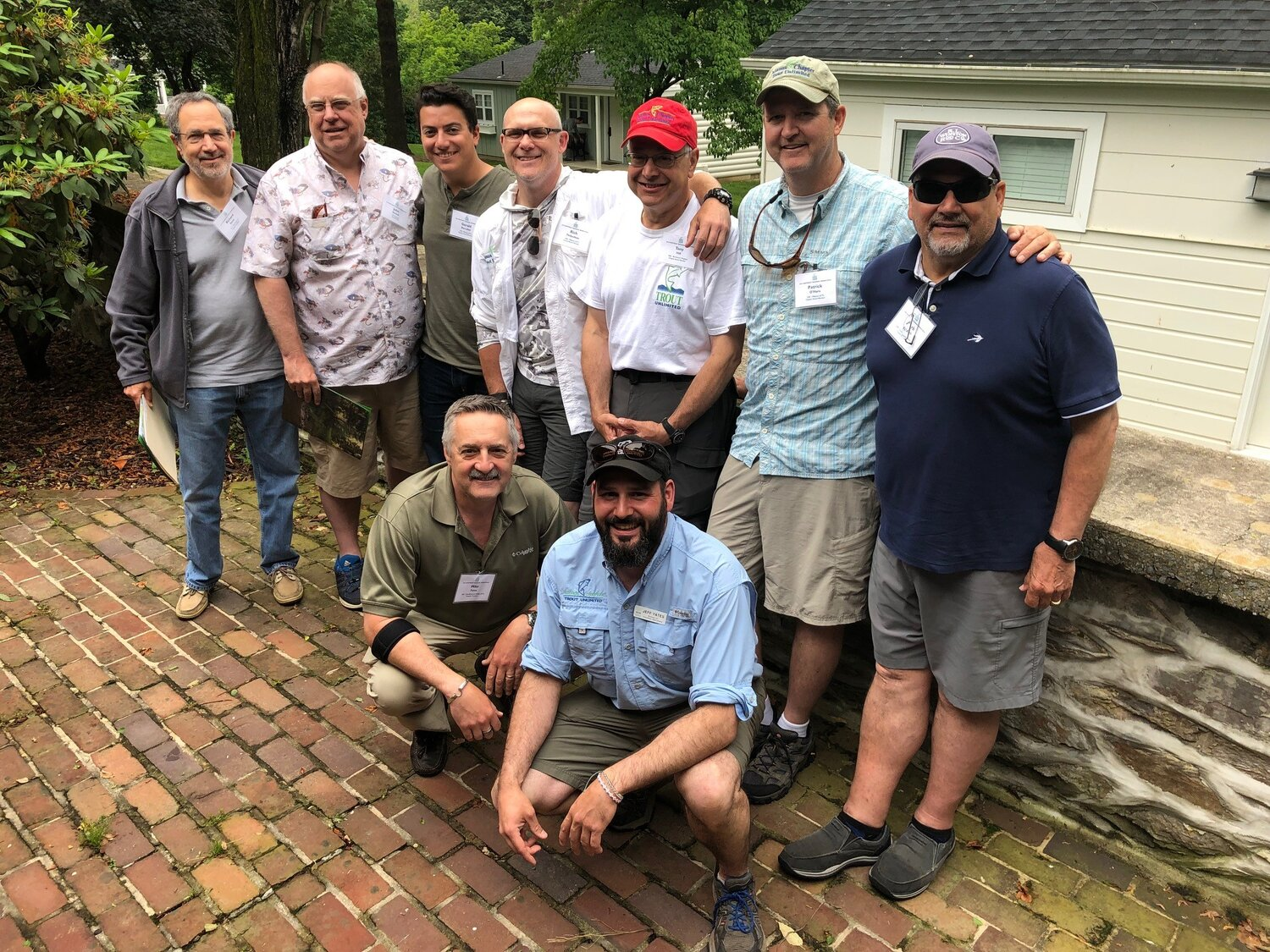 CT Council and Chapter representatives at TU Northeast Rendezvous, Boiling Springs, PA