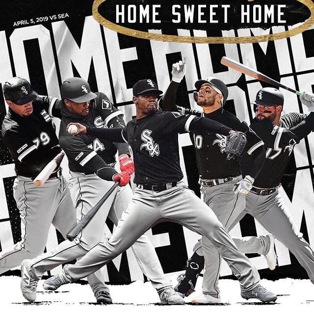 Home opener for the south side! Go Go White Sox!