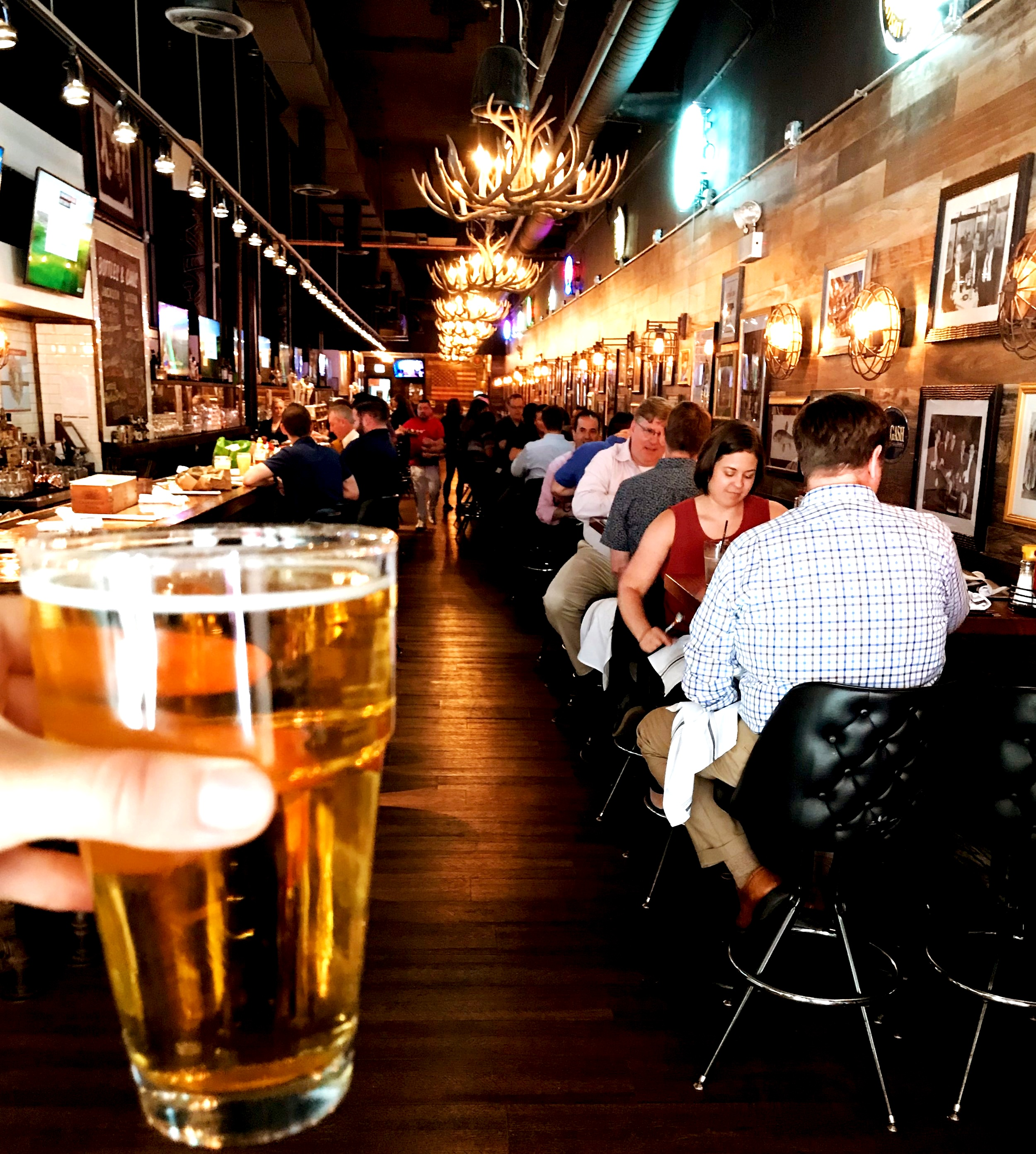 "—EMARS77, GOOGLE - ""Good food and good beers in a great downtown atmosphere."""