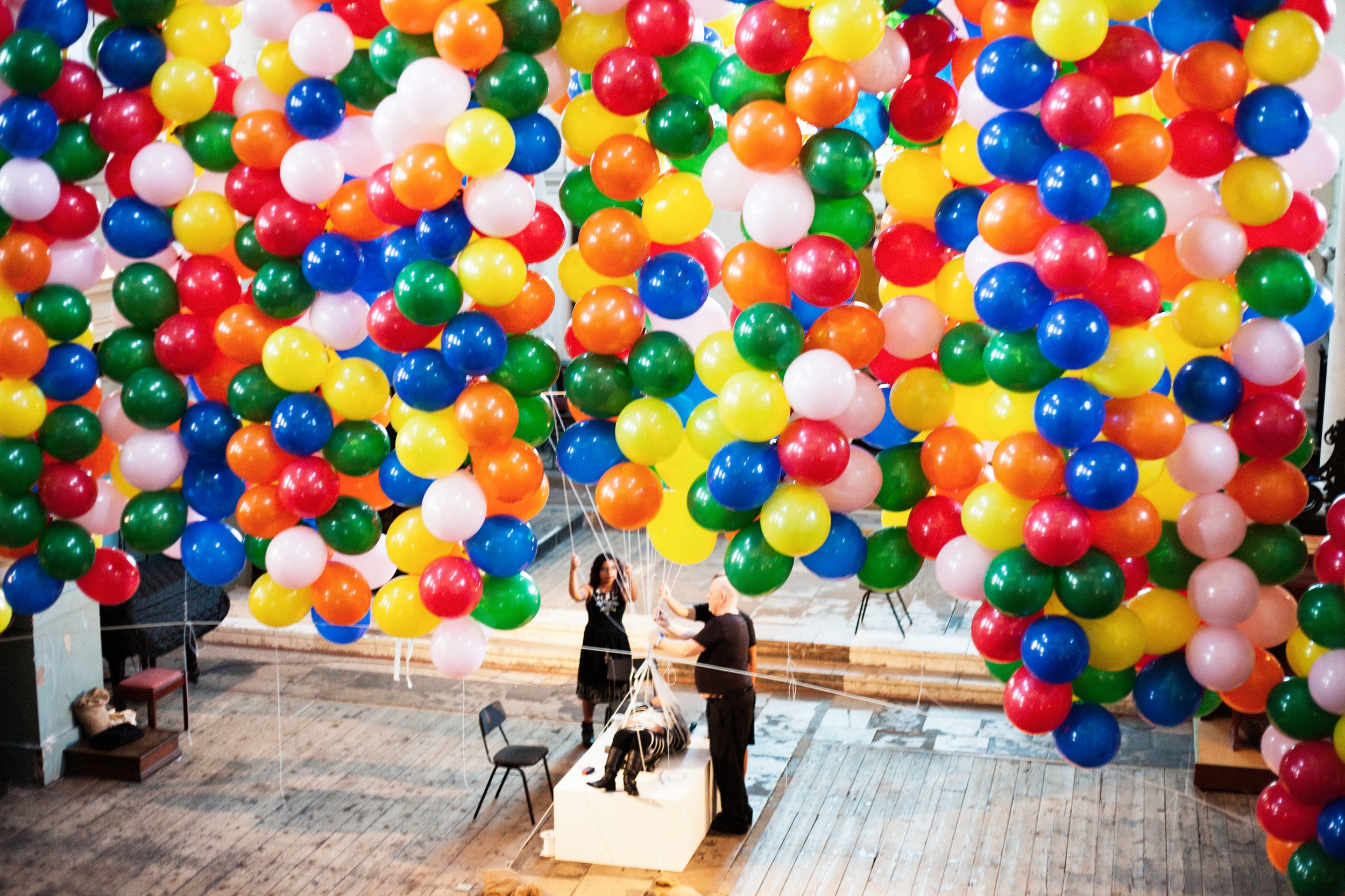 Noemi Lakmaier's 'Cherophobia' at Southbank Centre's Unlimited Festival. Photo by Grace Gelder for Unlimited