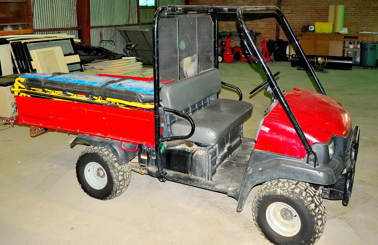Gator Utility Vehicles - For quick responses on alternative terrain.