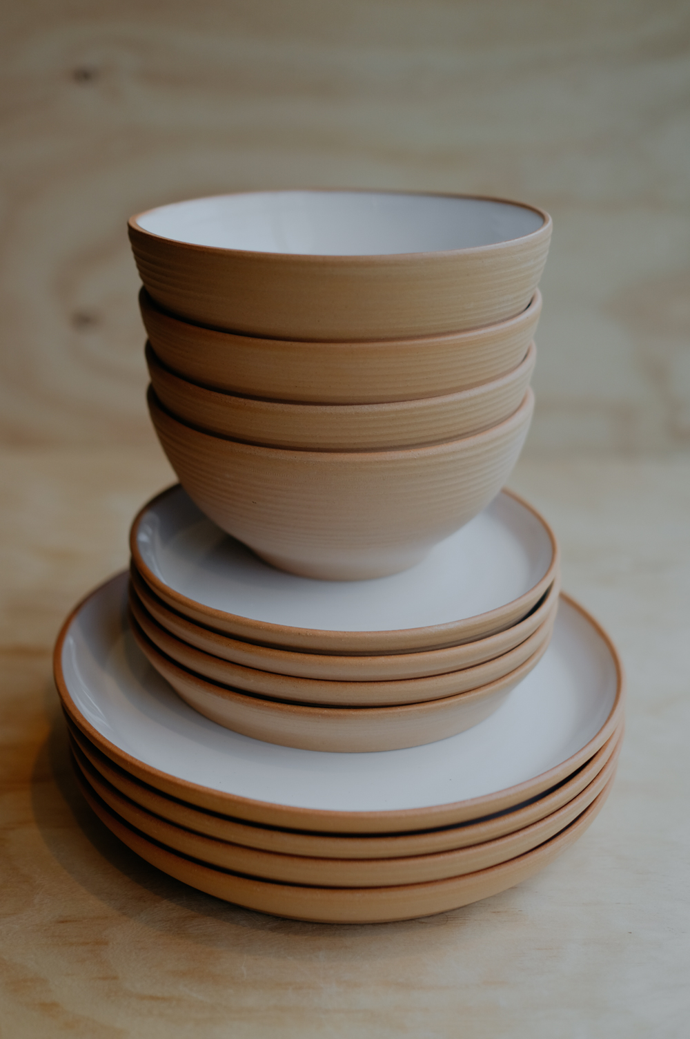 CUSTOM TABLEWARE - For both commercial establishments and private homes