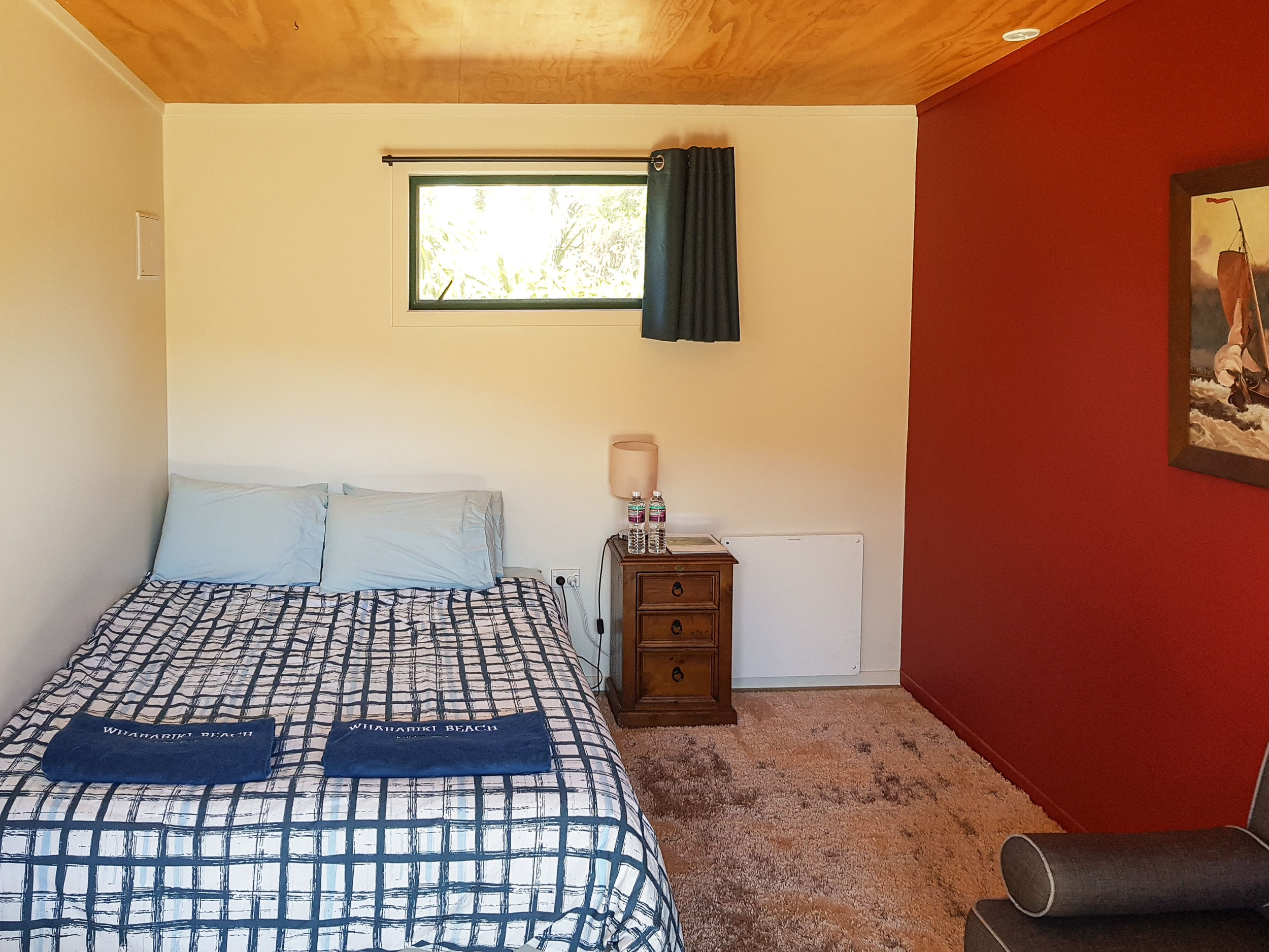 Tourist accommodation in a natural parkland setting in Golden Bay, NZ.
