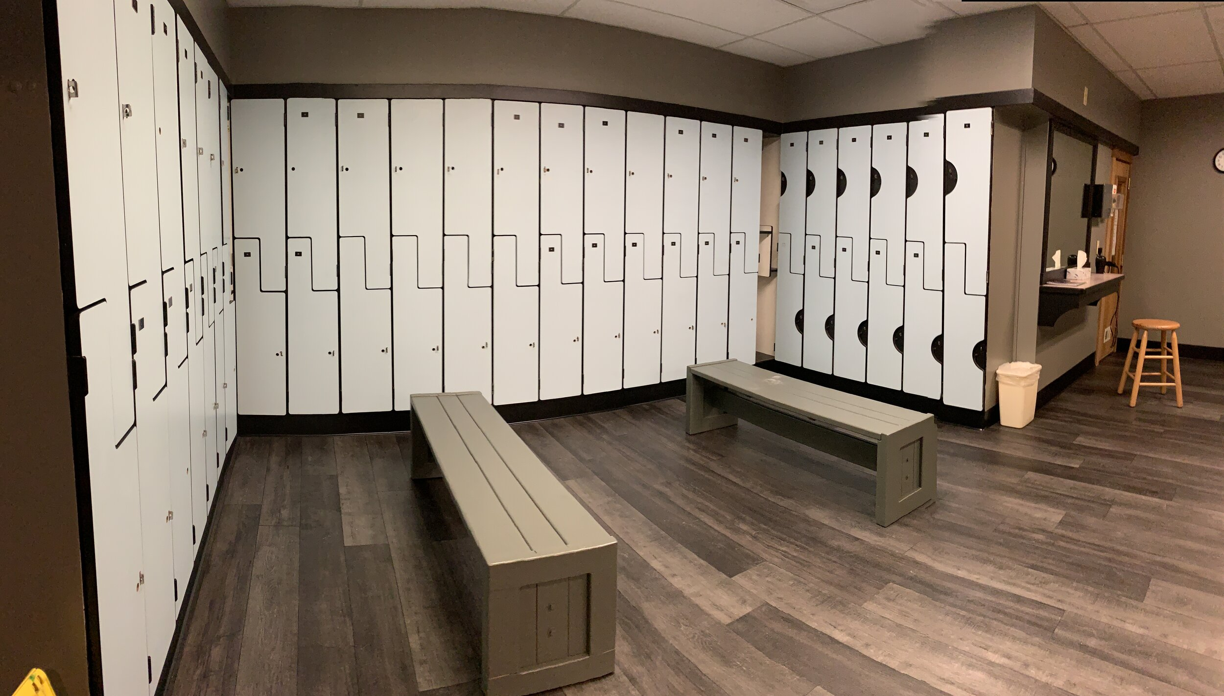 Ladies' locker room