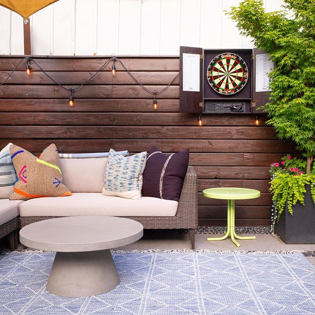 Excited to be featured in Houzz for our Boho Style Brooklyn Patio 🙌 check out the editorial to see how we perked up a small yet mighty space 🔗 in bio