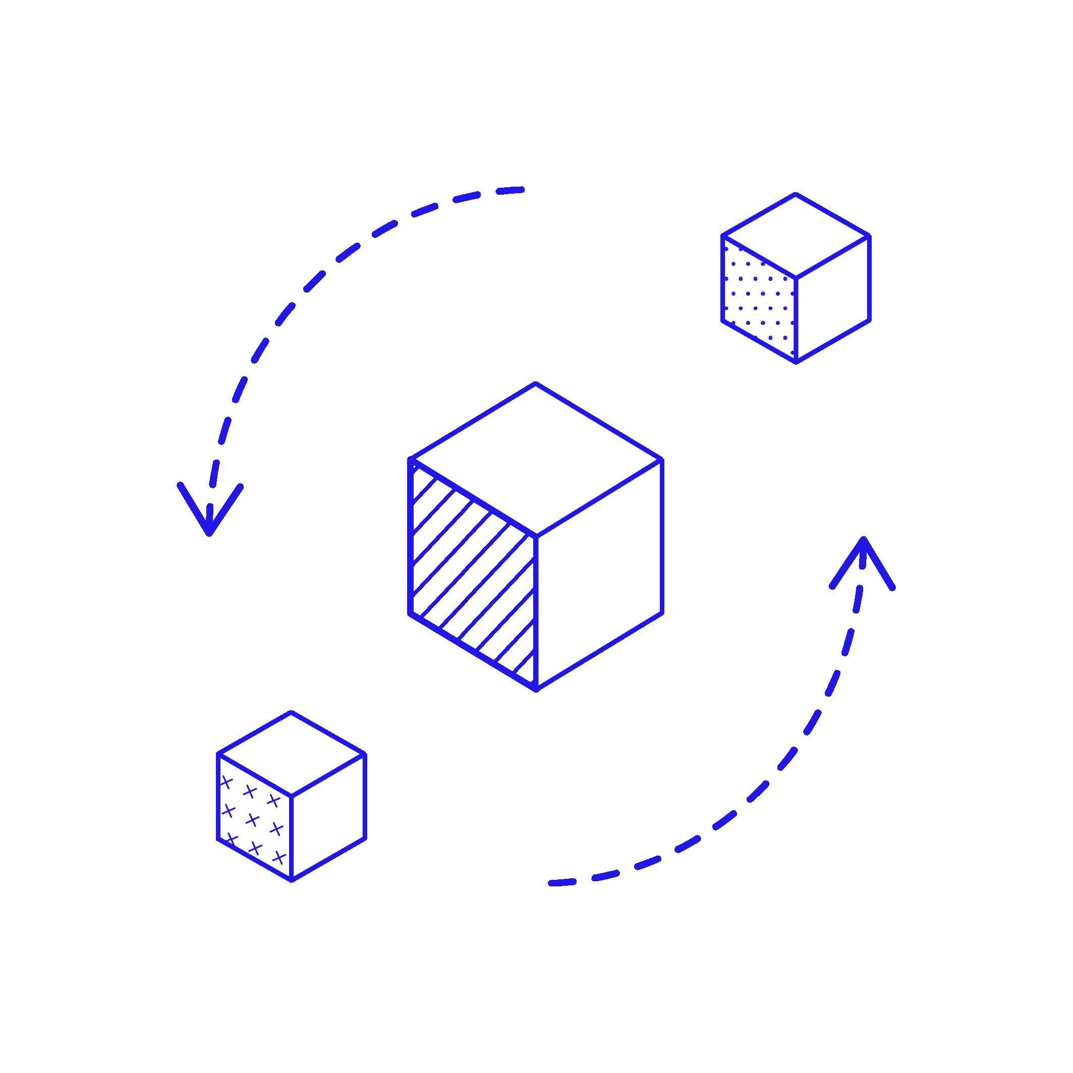 Iteratief - Service design is een verkennende, adaptieve en experimentele benadering die de implementatie van een nieuwe dienst ten goede komt. Het is een proces dat nooit klaar is, dus blijf klantervaringen opzoeken en services opnieuw ontwerpen wanneer dat nodig is. De wensen van de klant ontwikkelen zich immers altijd.