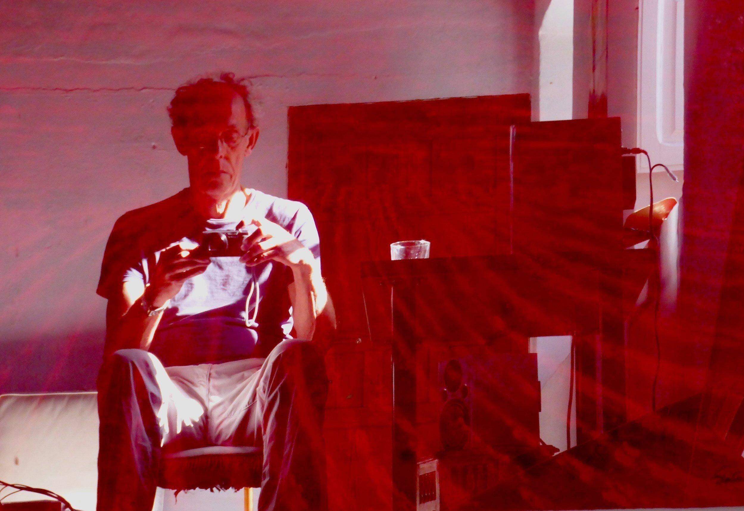 Seaton in his studio: Ronda, Spain